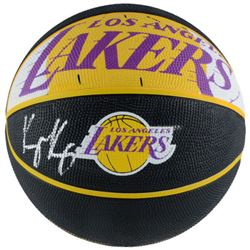 Kyle Kuzma Signed Lakers Logo Basketball (Fanatics Hologram)