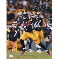 Le'Veon Bell Signed Steelers 11x14 Photo (JSA COA)