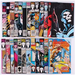 "Lot of (25) Marvel 1986-1993 ""The Punisher"" Comic Books with ""War Journal""  ""Eurohit"""