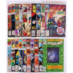 "Lot of (21) Marvel ""Spiderman"" Comic Books"