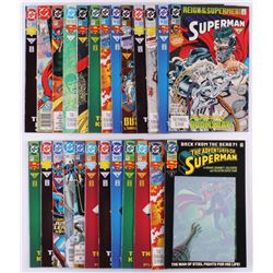 "Lot of (25) 1987-1992 DC ""Superman"" Comic Books with ""Action Comics"""