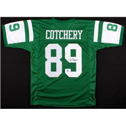 Jerricho Cotchery Signed Jets Jersey (Gridiron Legends COA)