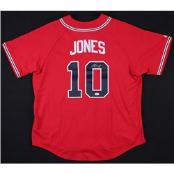 Chipper Jones Signed Braves Jersey (JSA Hologram)