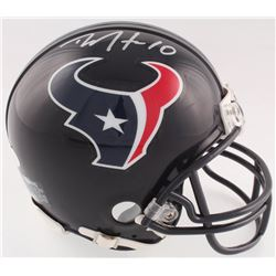 DeAndre Hopkins Signed Texans Mini Helmet (JSA COA)