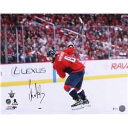 Alexander Ovechkin Signed Capitals 16x20 Photo (Beckett COA)