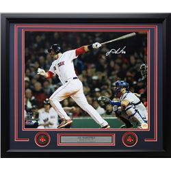 J. D. Martinez Signed Red Sox 22x27 Custom Framed Photo Display (Steiner COA)