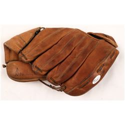 "Don Richie Ashburn Signed Vintage MacGregor Baseball Glove Inscribed ""HOF 95"" (JSA Hologram)"