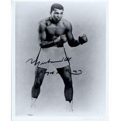 "Muhammad Ali Signed 8x10 Photo Inscribed ""King of the Ring"" (JSA LOA)"