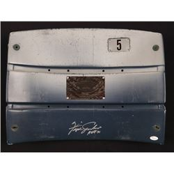 "Fergie Jenkins Signed Wrigley Field Seat Back Inscribed ""HOF 91"" (JSA COA)"