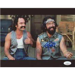 Tommy Chong Signed 8x10 Photo (JSA Hologram)