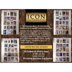 ICON AUTHENTIC 20X DIAMOND MYSTERY BOX - 20 Hits per Box