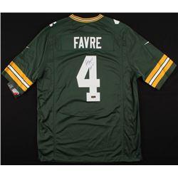 "Brett Favre Signed Packers Jersey Inscribed ""HOF 16"" (Radtke COA)"