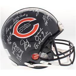 1985 Bears Full-Size Authentic On-Field Helmet Team-Signed by (30) with Mike Ditka, Richard Dent  Ji