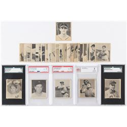 Partial Set of (28/48) 1948 Bowman Baseball Cards with #36 Stan Musial RC and (5) Graded Cards