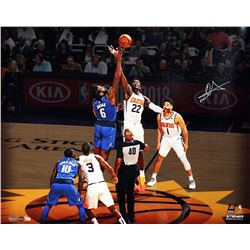 """Deandre Ayton Signed Suns """"Tip Off"""" 16x20 Limited Edition Photo (Game Day Legends COA  Steiner COA)"""