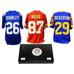 Schwartz Sports Football Superstar Signed Mystery Box Football Jersey Series 12 - (Limited to 75)