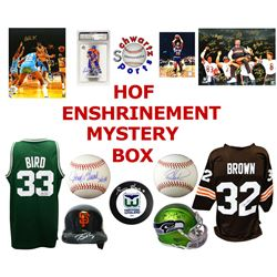 Hall of Fame Enshrinement Mystery Box - Series 6 (Limited to 75) (4 Autographs/ 2 or More Hall of Fa