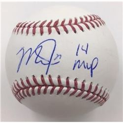 """Mike Trout Signed Baseball Inscribed """"14 MVP"""" (MLB)"""
