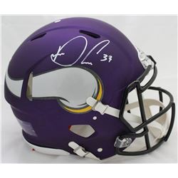 Dalvin Cook Signed Vikings Authentic On-Field Full-Size Helmet (JSA COA)