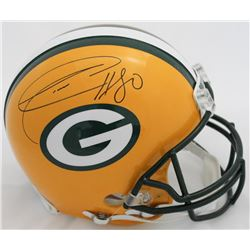 Donald Driver Signed Packers Full-Size Authentic On-Field Helmet (Beckett COA)