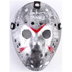 "Ari Lehman Signed Jason ""Friday the 13th"" Hockey Mask Inscribed ""First F****** Jason"", ""Jason 1""  ""K"