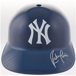 Ruben Sierra Signed Yankees Replica Full-Size Batting Helmet (JSA COA)