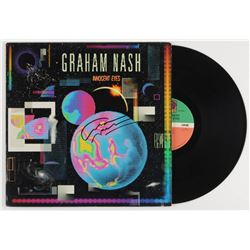 "Graham Nash Signed ""Innocent Eyes"" Vinyl Record Album (JSA COA)"