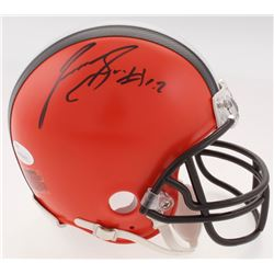 Josh Gordon Signed Browns Mini Helmet (JSA COA)