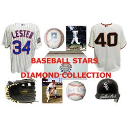 Baseball Diamond Collection Mystery Box – Series 1 (3 Autograph Baseball Collectibles Per Box)