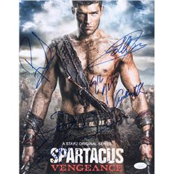 """Spartacus"" 11x14 Photo Cast-Signed by (6) with Liam McIntyre, Cynthia Addai-Robinson, Peter Mensah,"