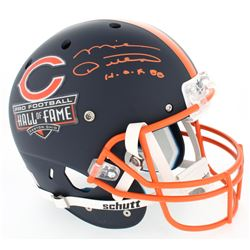 "Mike Ditka Signed Hall of Fame Commemorative Full-Size Matte Blue Helmet Inscribed ""H.O.F. 88"" (JSA"