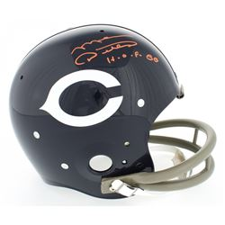 "Mike Ditka Signed Bears Throwback Suspension Full-Size Helmet Inscribed ""H.O.F. 88"" (JSA COA)"