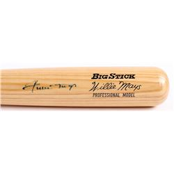 Willie Mays Signed Adirondack Big Stick Player Model Baseball Bat (JSA LOA)