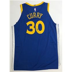 Stephen Curry Signed Warriors Authentic Nike Jersey (Steiner COA)