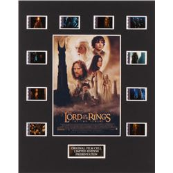 """The Lord of the Rings: The Two Towers"" 8x10 Custom Matted Original Film Cell Display"