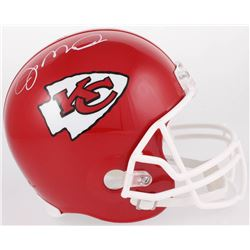 Joe Montana Signed Chiefs Full-Size Helmet (Beckett COA)