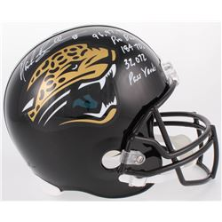 "Mark Brunell Signed Jaguars Full-Size Helmet Inscribed ""96, 97, 99 Pro Bowl"", ""184 TDs""  ""32,072 Pas"