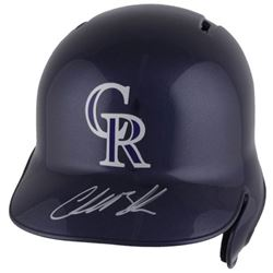 Charlie Blackmon Signed Rockies Full-Size Batting Helmet (Fanatics Hologram  MLB Hologram)