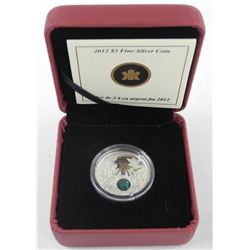 2012 .9999 Fine Silver $3.00 Coin 'May Birthstone' (CE)