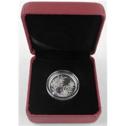 2012 .9999 Fine Silver $3.00 Coin 'February Birthstone' (CE) (No C.O.A. )