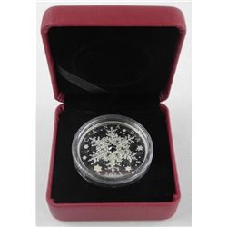 2013 .9999 Fine Silver $20.00 Coin 'Snowflake with Crystal' (NO COA)