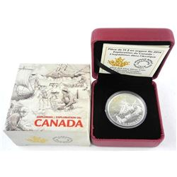 2014 .9999 Fine Silver $15.00 Coin 'The Arctic Expedition' (EE)