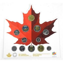 2017 'MY CANADA - MY INSPIRATION' Coin Collection and The Classics