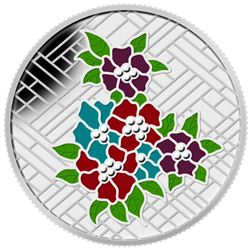 2014 $20 Stained Glass: Craigdarroch Castle - Pure Silver Coin