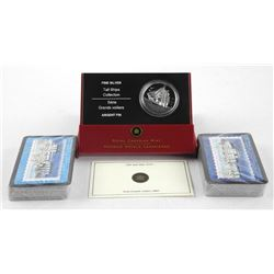 2005 .9999 Fine Silver $20.00 Coin 'Tall Ship Series - 3 Masted Ship with Double Deck - Tall Ships P