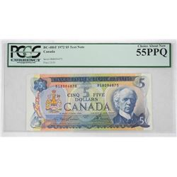 Bank of Canada 1972 Five Dollar Test Note BC-486T UNC 55. 'PCGS' Scarce Note (OOXR)