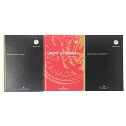 Lot (3) RCM Annual Reports 2 Have Special Issue Coins