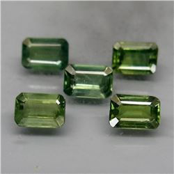 Natural Blue Green Sapphire Perfect Shape 3.80 Ct