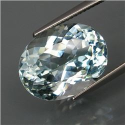 Natural Aquamarine Color Topaz 13.37 Ct