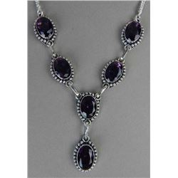 GORGEOUS 53.50  CT AMETHYST NECKLACE.